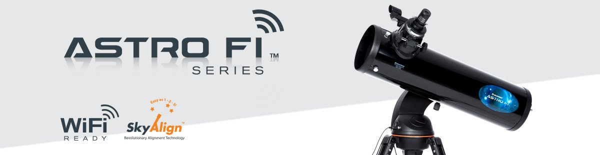 Seria Astro Fi - Telescoape inteligente
